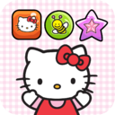 Hello Kitty Match-3 - fun and addictive free games mobile app icon