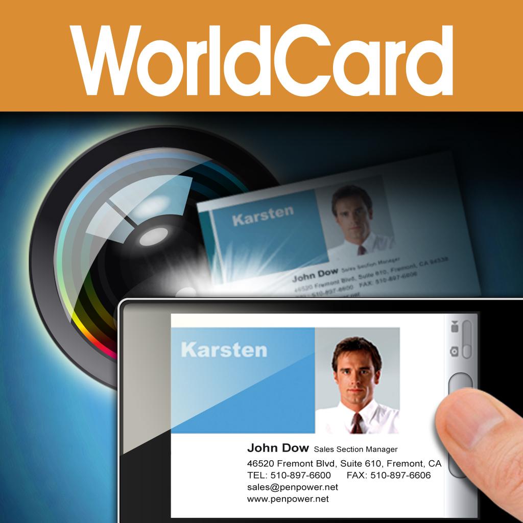 WorldCard Mobile - business card reader & business card scanner